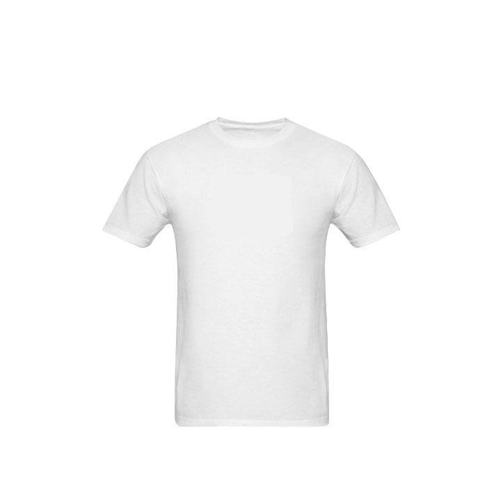 Camisa Branca 100% Poliéster 30.1 – Tamanho G (Unidade)  - ECONOMIZOU