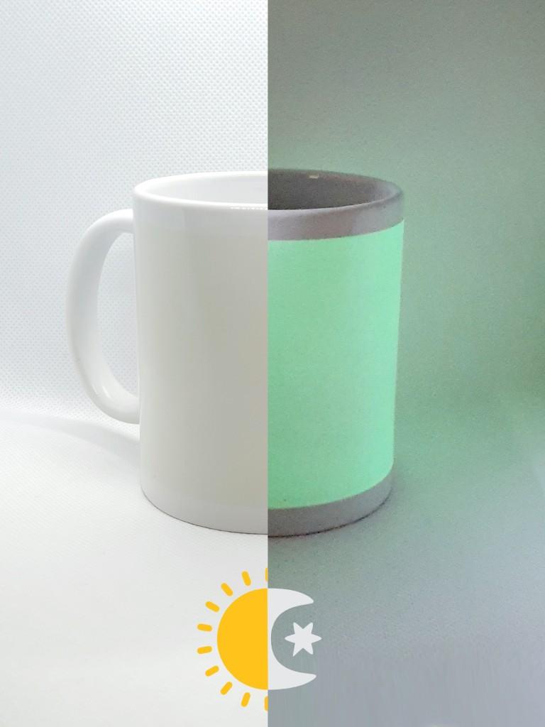 Caneca fluorescente Para Sublimação (Unidade)  - ECONOMIZOU