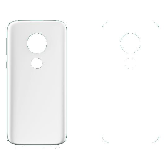 Capa 2D para Sublimação Moto E5 Play  - ECONOMIZOU