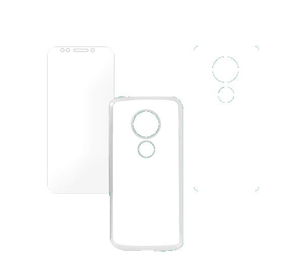 Capa 2D para Sublimação Moto G6 PLUS  - ECONOMIZOU