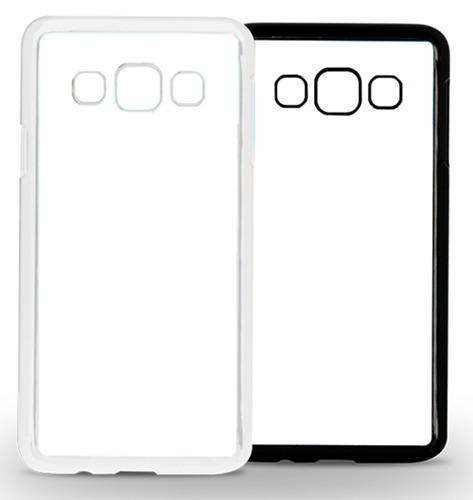 Capa 2D para Sublimação Samsung J7 - Preta  - ECONOMIZOU