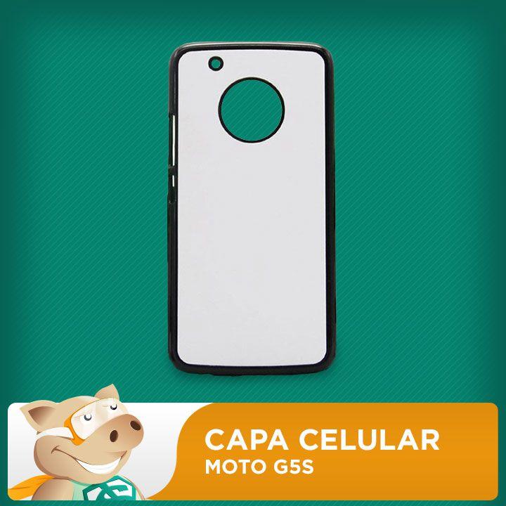 Capa Moto G5S P/sublimação  - ECONOMIZOU