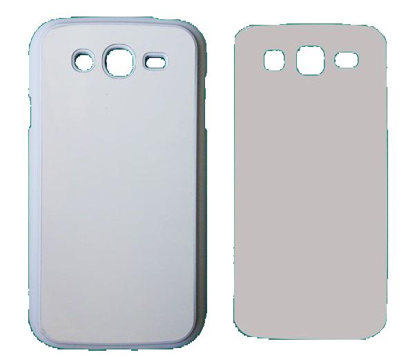 Capa Plástica 2D para Sublimação - Branca - Samsung Galaxy  Grand 1  - ECONOMIZOU