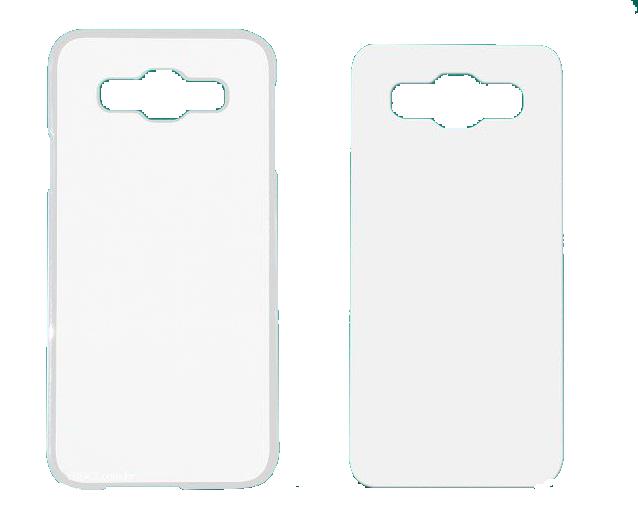 Capa Plástica 2D para Sublimação - Galaxy E5  - ECONOMIZOU