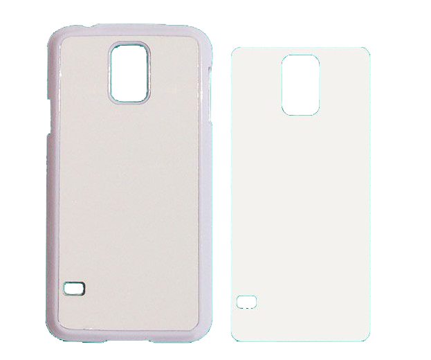 Capa Plástica 2D para Sublimação - Samsung S5 - I9600  - ECONOMIZOU
