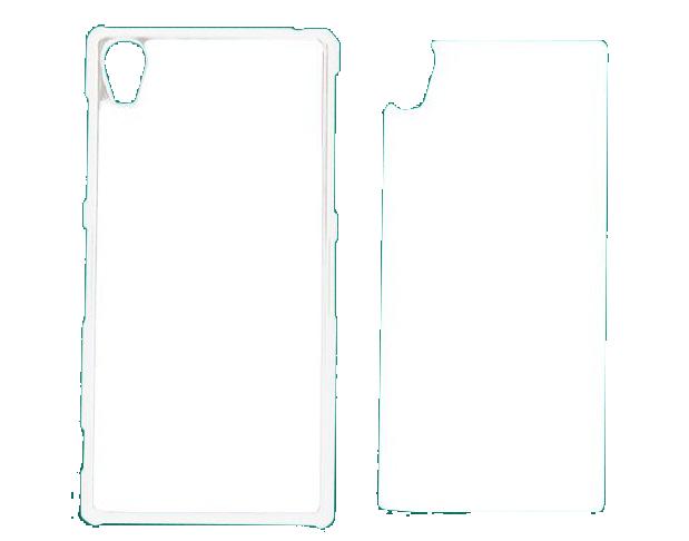 Capa Plástica 2D para Sublimação - Sony  Xperia Z1 -  L39H  - ECONOMIZOU