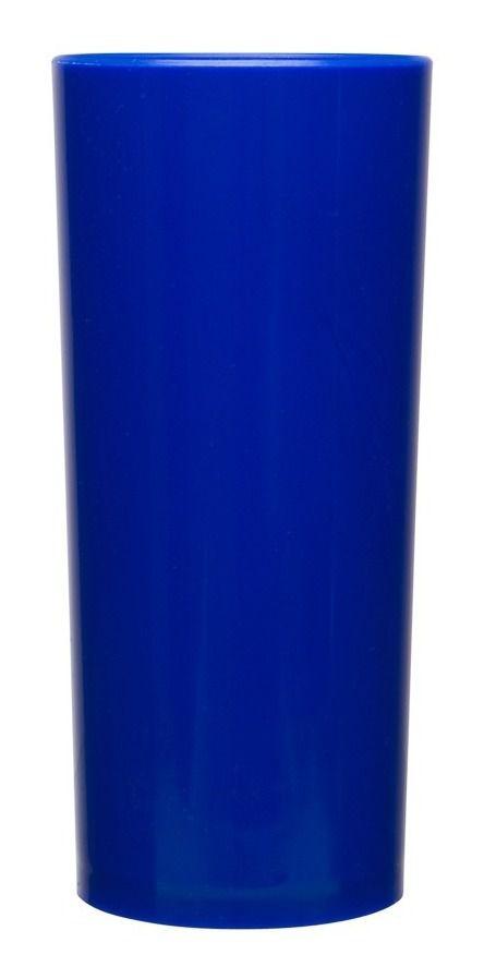 Copo Long Drink  - Azul  - ECONOMIZOU