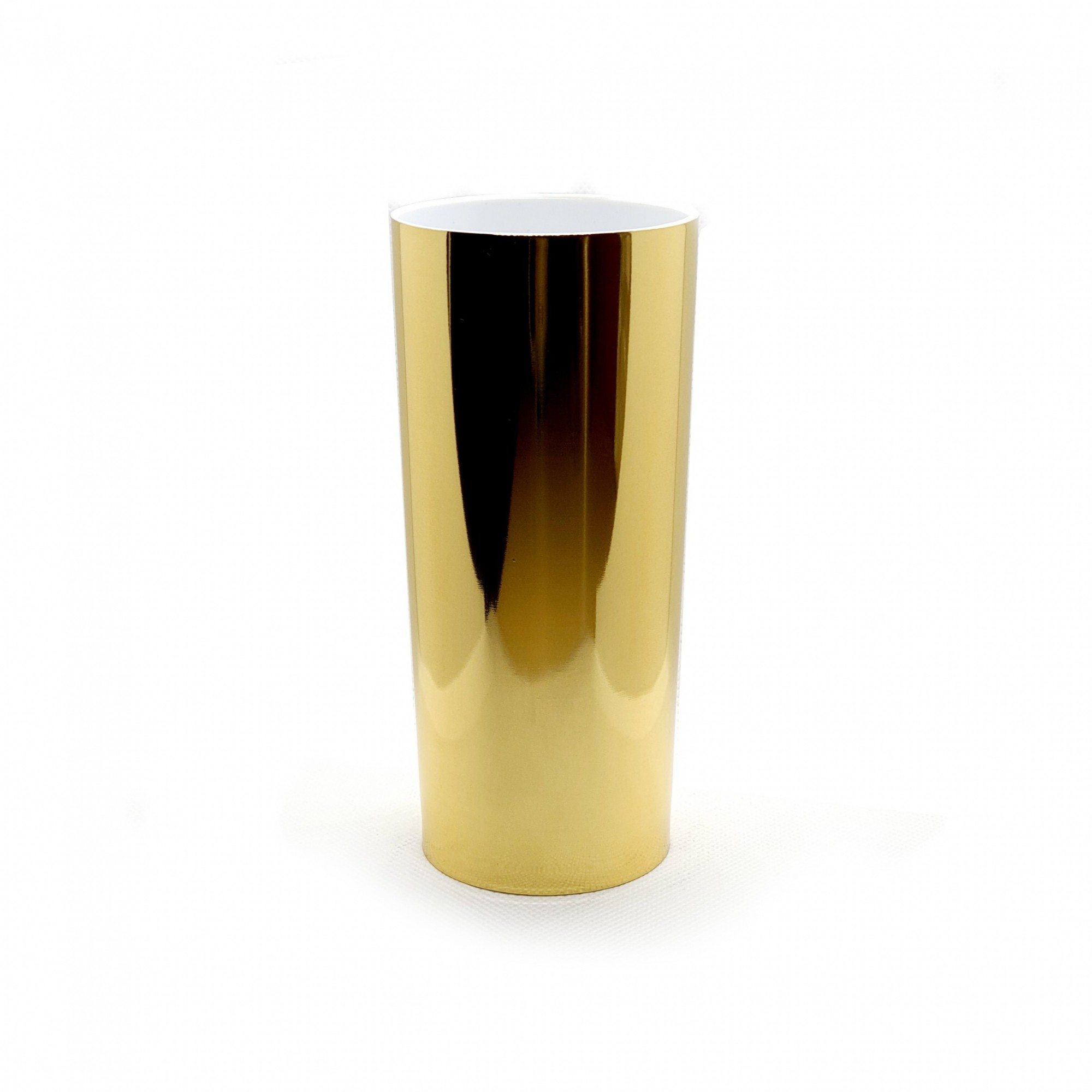 Copo long drink foil dourado  - ECONOMIZOU
