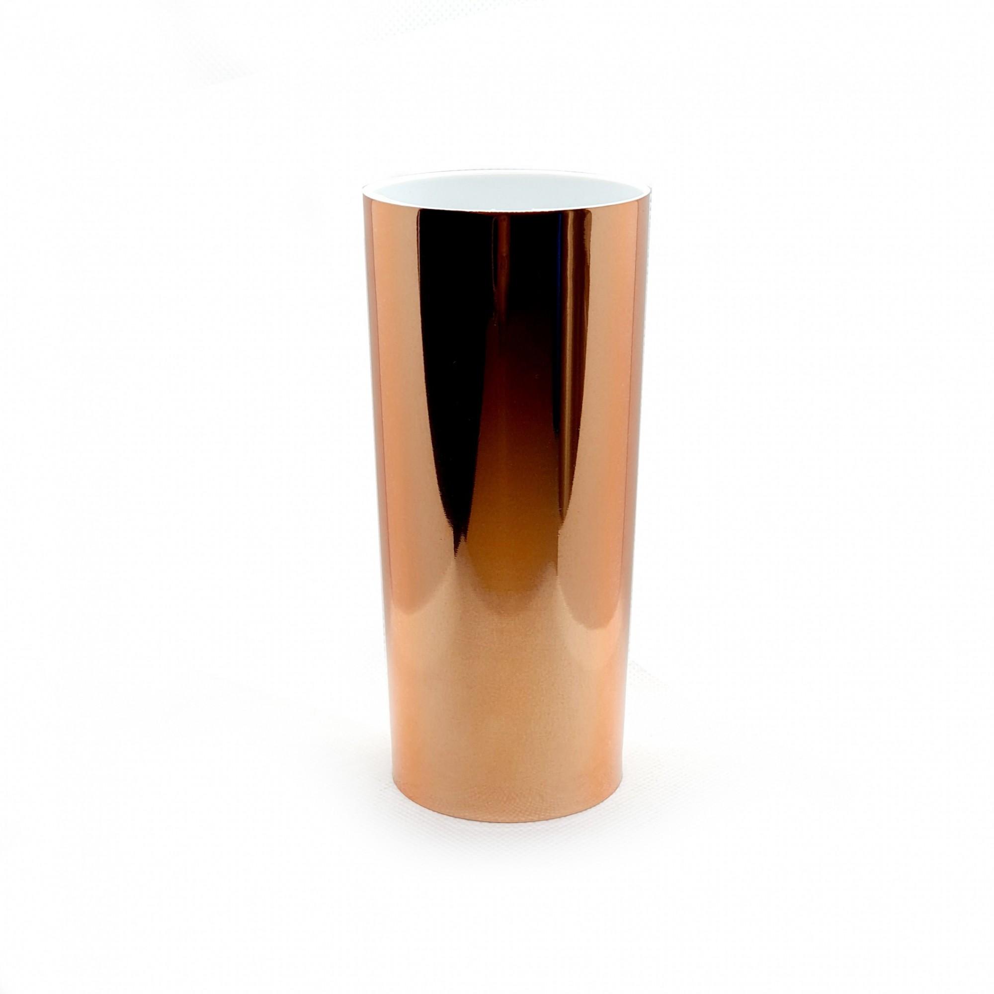Copo long drink foil rosê  - ECONOMIZOU