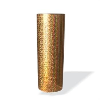 Copo Long Drink Holográfico Dourado  - ECONOMIZOU