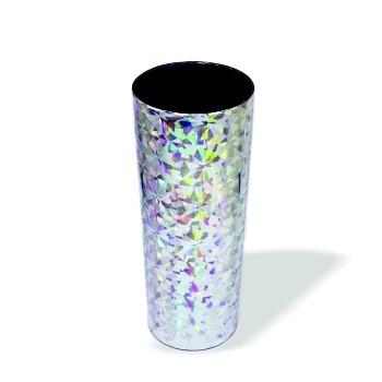 Copo Long Drink Holográfico Prata  - ECONOMIZOU