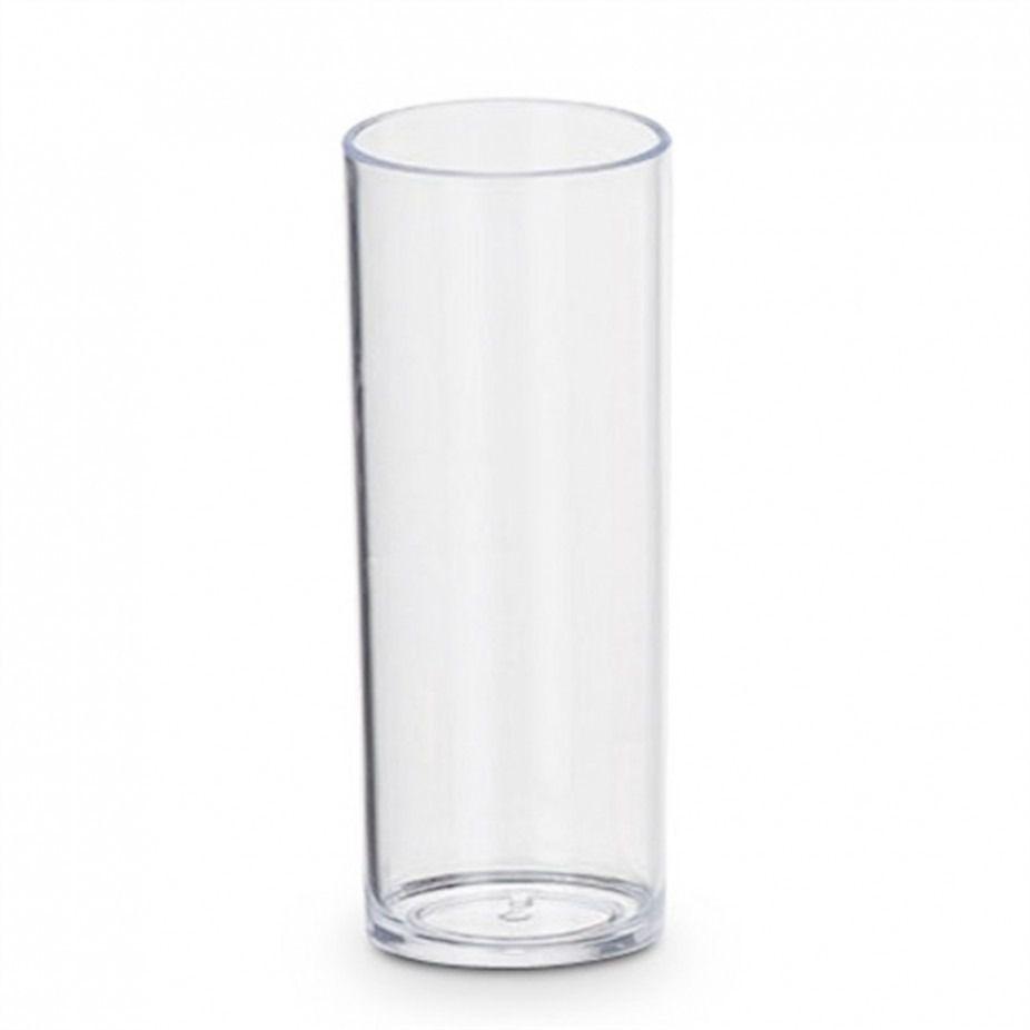 Copo Long Drink - Transparente -  100 Unidades  - ECONOMIZOU