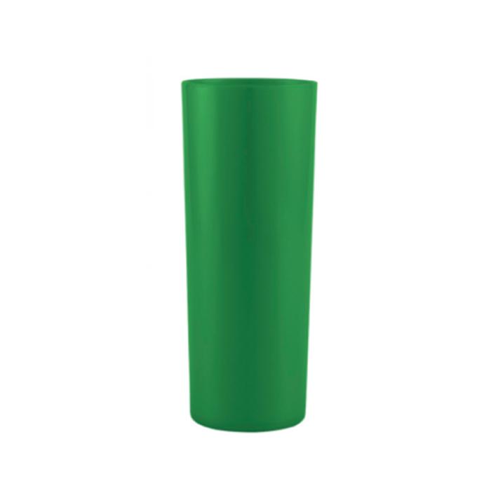 Copo Long Drink  - Verde Claro Leitoso  - ECONOMIZOU