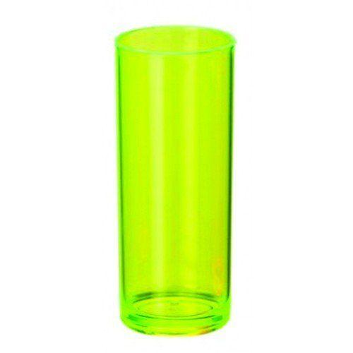 Copo Long Drink - Verde Neon (Unidade)  - ECONOMIZOU