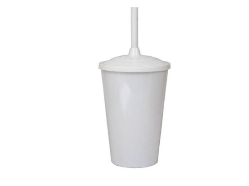 Copo Twister Branco Leitoso  - ECONOMIZOU