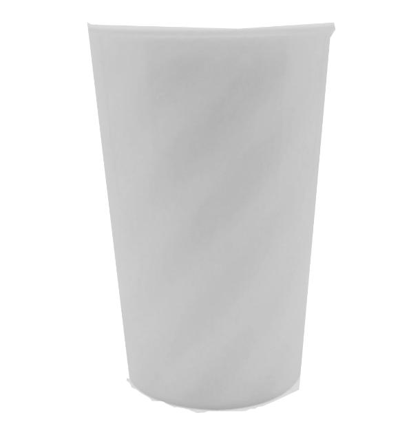 Copo Twister Branco Leitoso - Sem tampa  - ECONOMIZOU