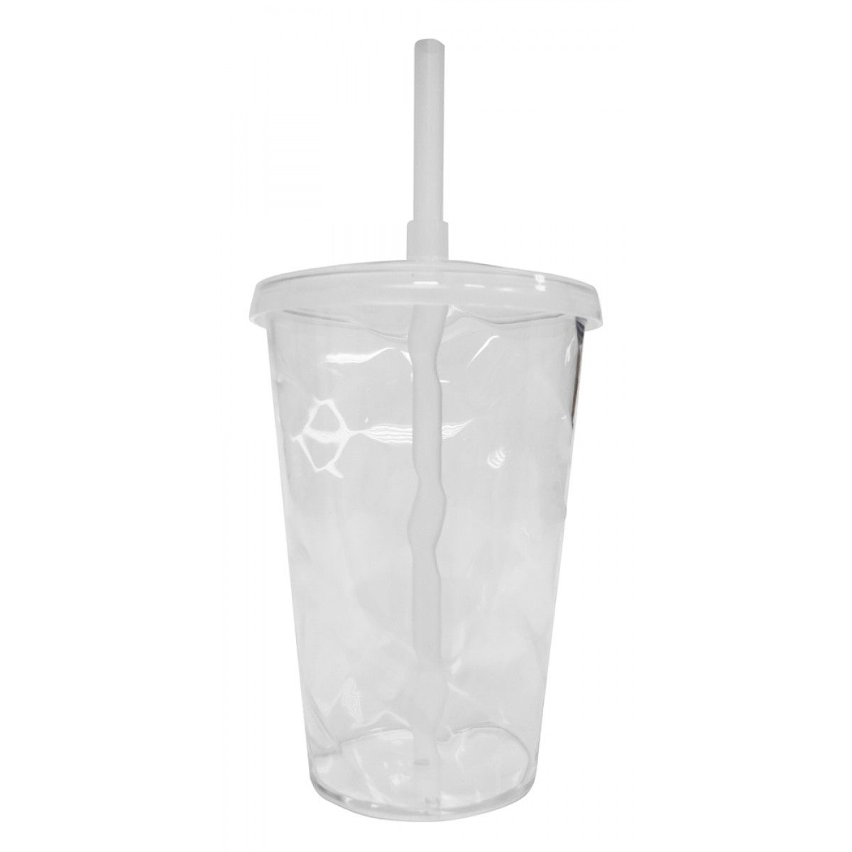 Copo Twister Branco Transparente  - ECONOMIZOU