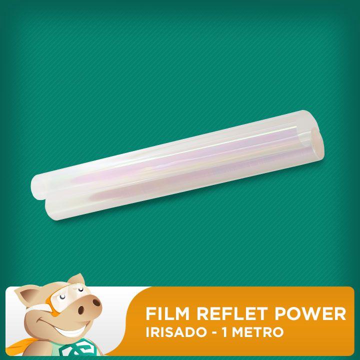 Film Reflet Power Irisado - 1 Metro  - ECONOMIZOU