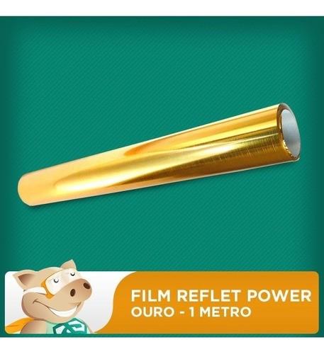 Filme Reflet Power - Diversas Cores - 4 Metros  - ECONOMIZOU