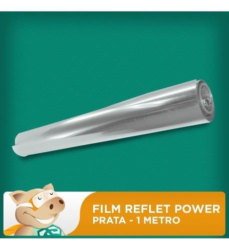 Filme Reflet Power - Diversas Cores - 6 Metros  - ECONOMIZOU