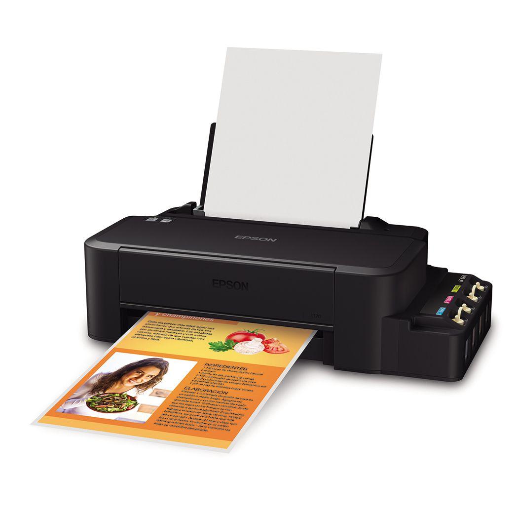 Impressora Epson Tanque De Tinta L120 <Ecotank> - C11CD76201  - ECONOMIZOU