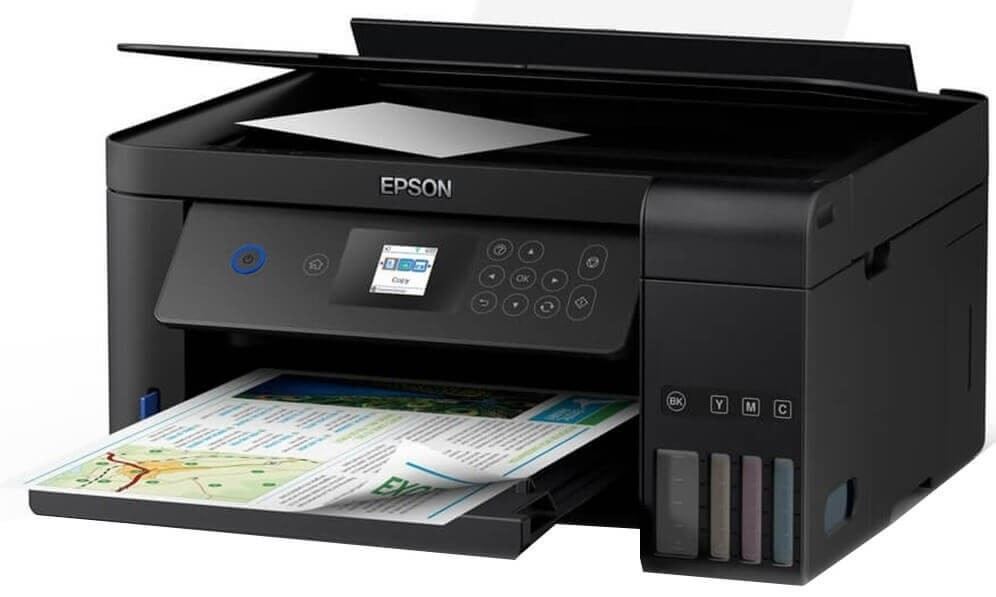 Impressora Multifuncional Epson EcoTank L4160  - ECONOMIZOU