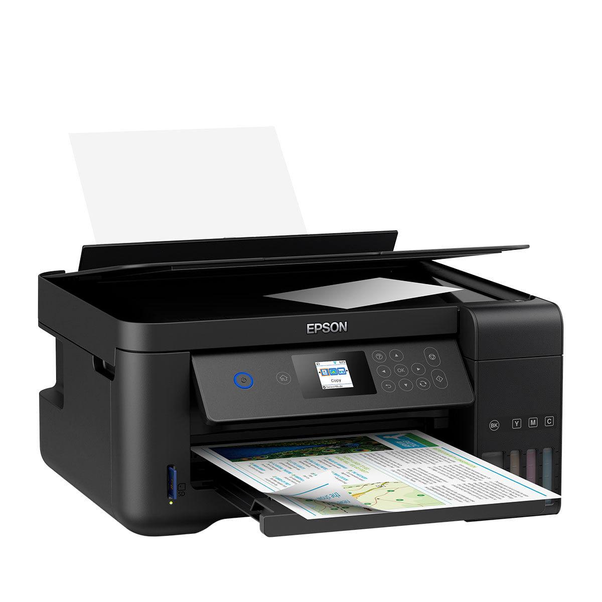 Impressora Multifuncional Epson EcoTank L4160 com tinta sublimática  - ECONOMIZOU
