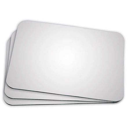 Mouse Pad para Sublimação -  Retangular -  21x17 - 10 Unidades  - ECONOMIZOU