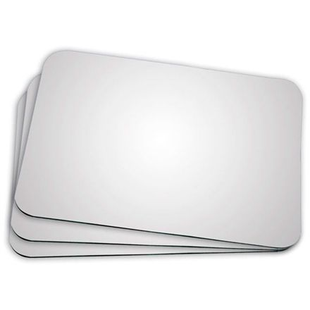 Mouse Pad para Sublimação -  Retangular -  21x17 - 50 Unidades  - ECONOMIZOU