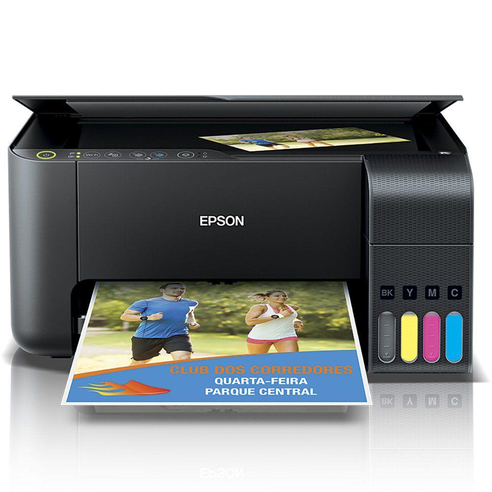 Multifuncional Epson L3150 com tinta sublimática  - ECONOMIZOU