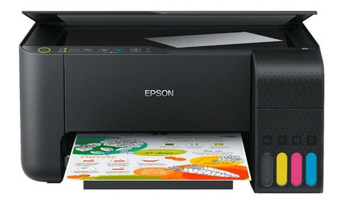 Multifuncional Epson L3150 Sublimática E Dispenser Instalado  - ECONOMIZOU