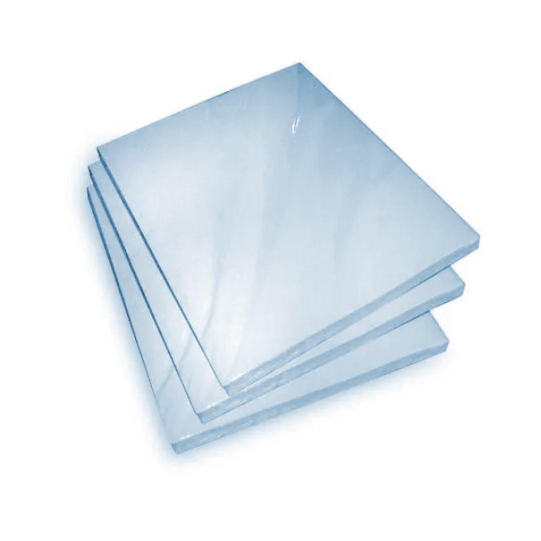 Papel Sublimático Resinado A4 90gr fundo azul - 100 folhas   - ECONOMIZOU