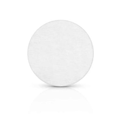 Placa de Sinalização Com Adesivo - Redonda - 9 cm - Pacote Com 10 Unidades  - ECONOMIZOU