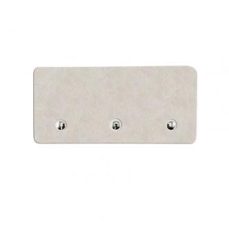 Porta-chaves 100% PET - 8,8 x 18,3 cm - Cartela com 3 unidades  - ECONOMIZOU