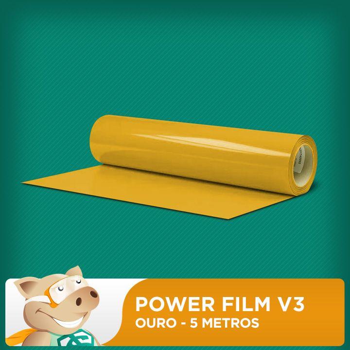 Power Film V3 Ouro - 5 Metros  - ECONOMIZOU