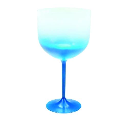 Taça de Gin Degradê Azul  - ECONOMIZOU