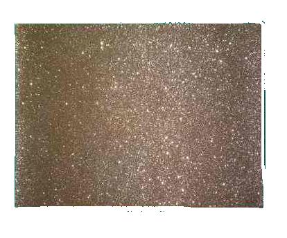 Termocolante Gliter Dourado A4 - 20 Folhas  - ECONOMIZOU