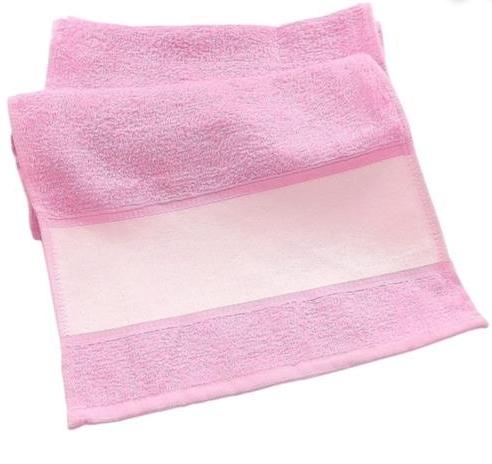 Toalha de mão (lavabinho) para Sublimação - Rosa  - ECONOMIZOU