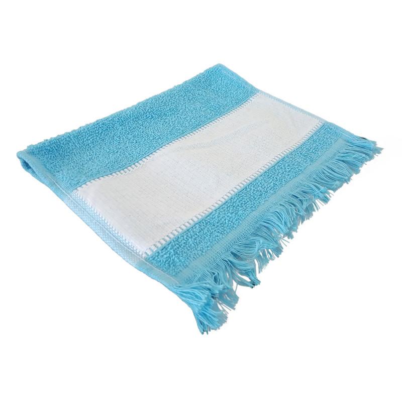 Toalha Lavabinho com Franja - Azul  - ECONOMIZOU