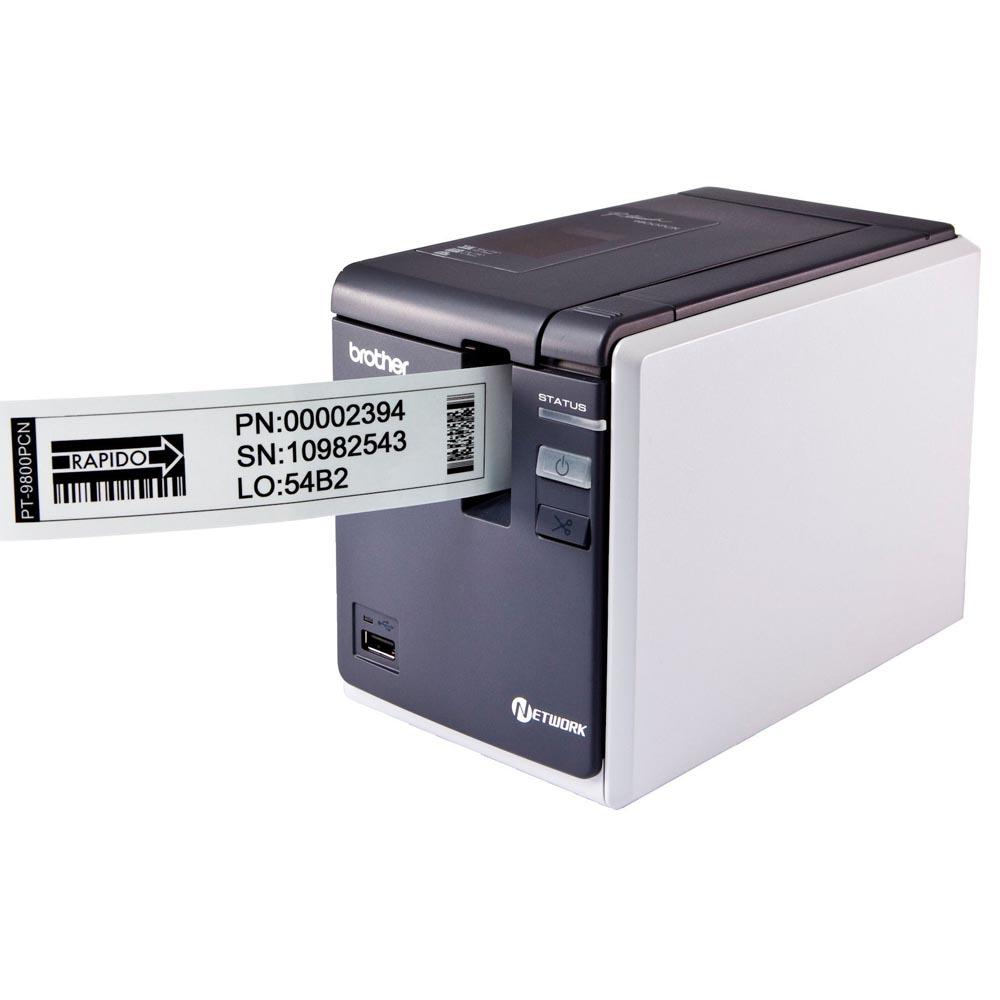 Rotulador Eletrônico PT-9800PCN Conectável ao PC Brother