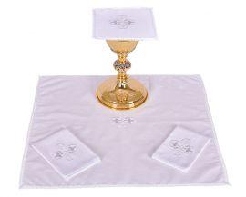 Altar Set Cotton Gothic Cross B012