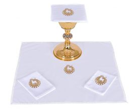 Altar Set Cotton Lamb B014
