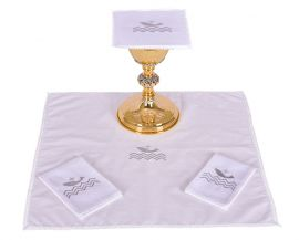 Altar Set Cotton Pope Francis B185