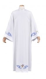 Tunic Pleats Embroidered Queen of Peace TU500