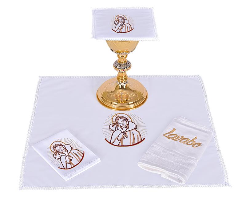 Altar Set Cotton Good Shepherd CA105