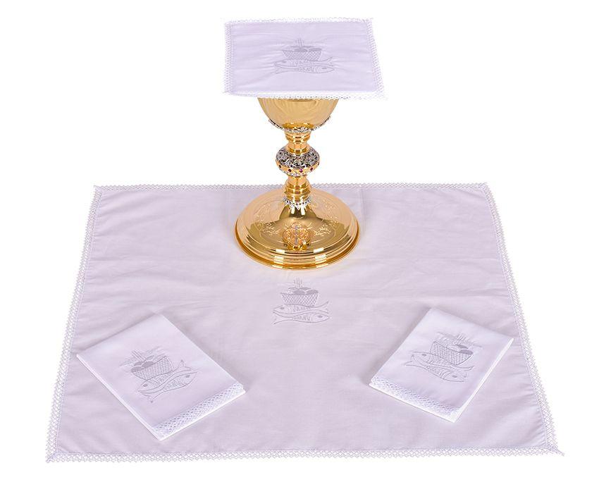 Altar Set Cotton Fish and Bread B009