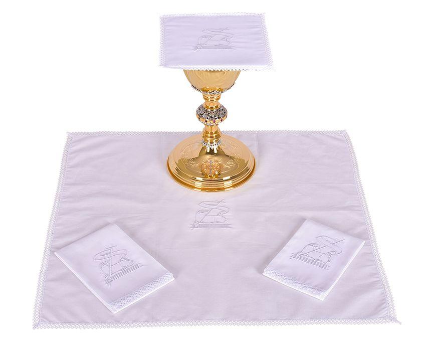 Altar Set Cotton Lamb B008