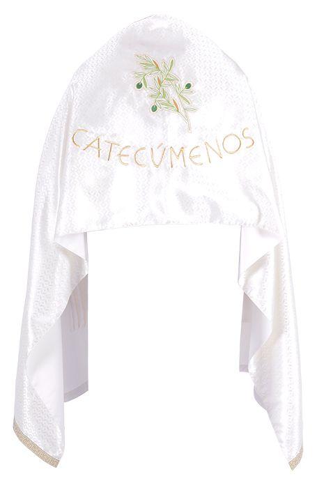 Catechumen Shoulder Veil Chrism Mass VO150