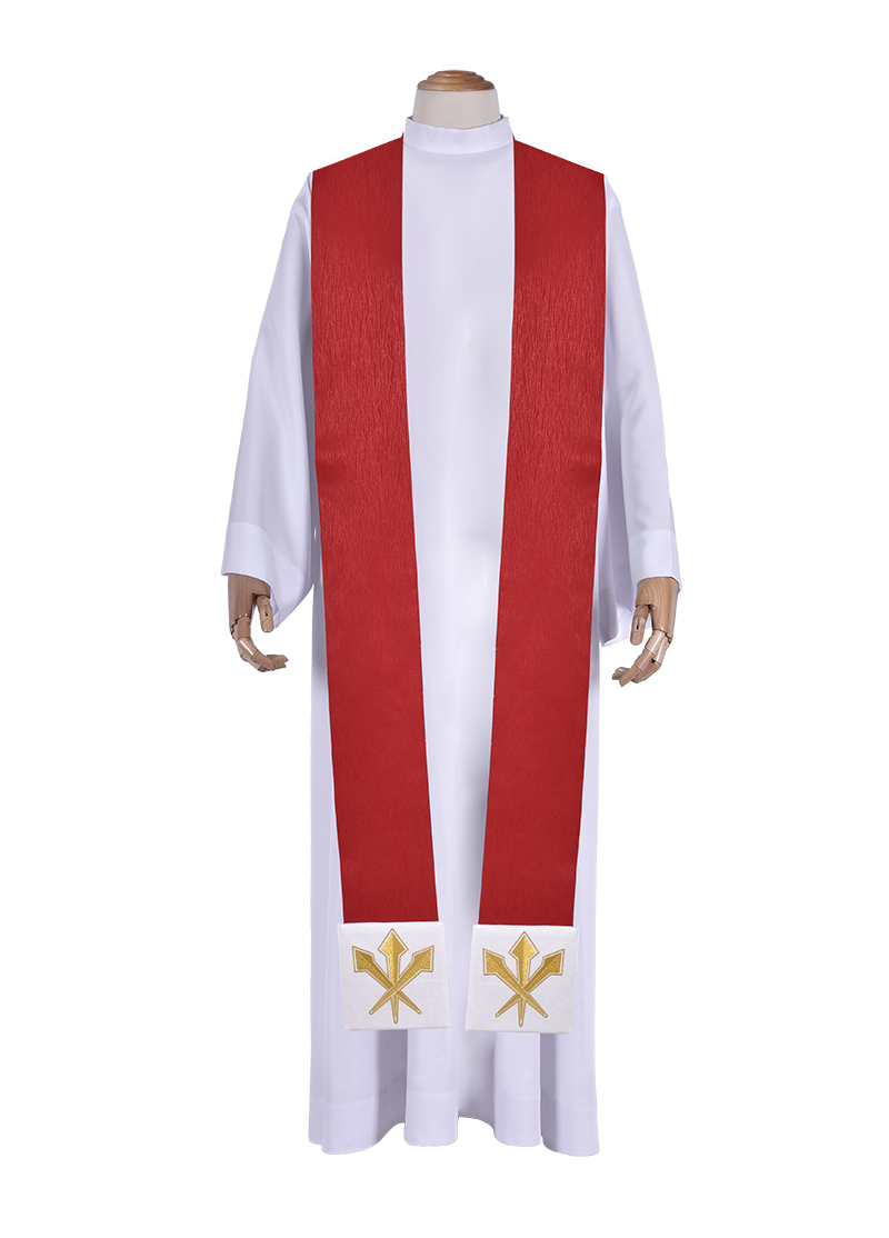 Christ King Priestly Stole Asperges Cope ES715