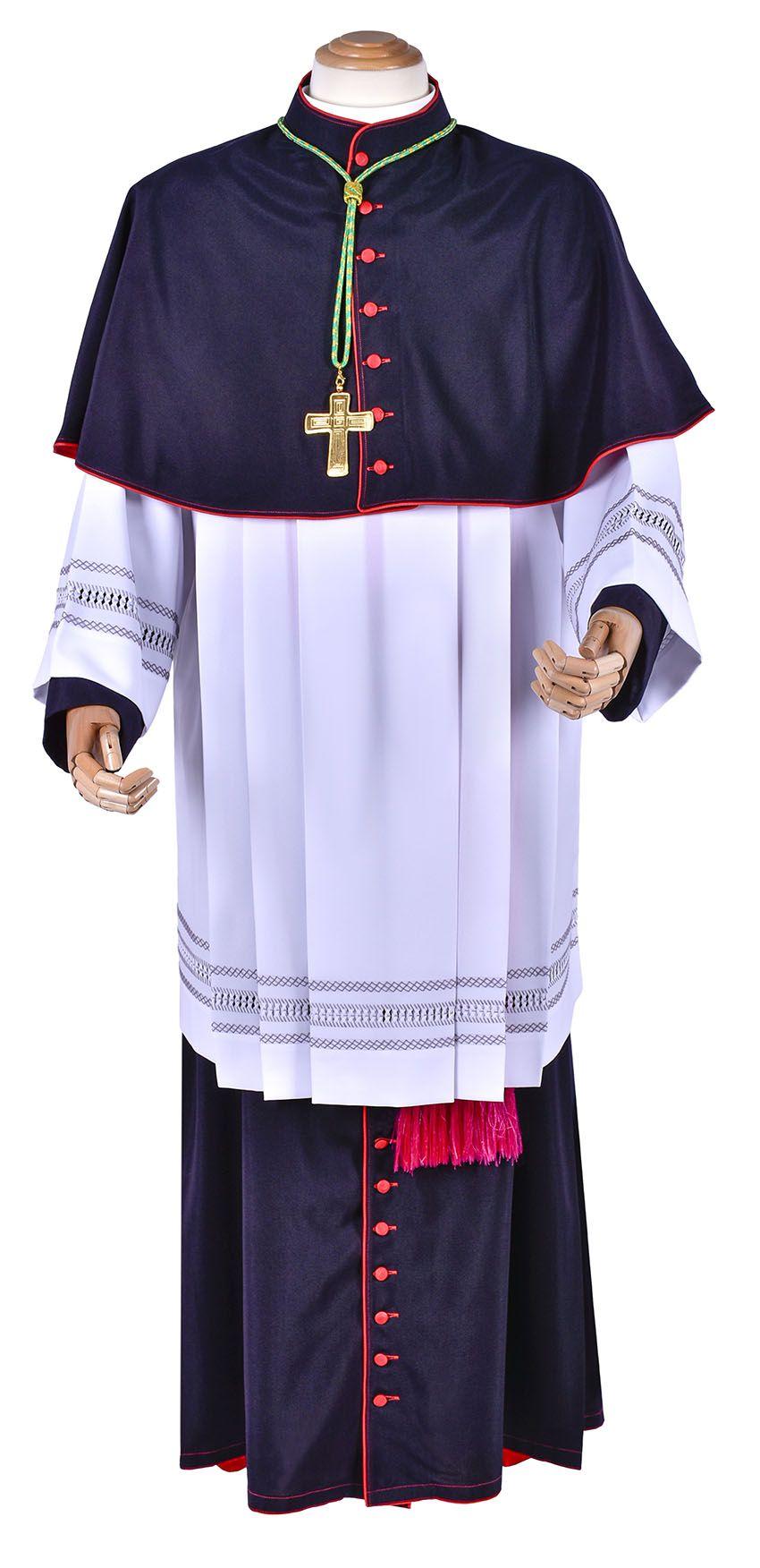Episcopal Roman Cassock Model BT401